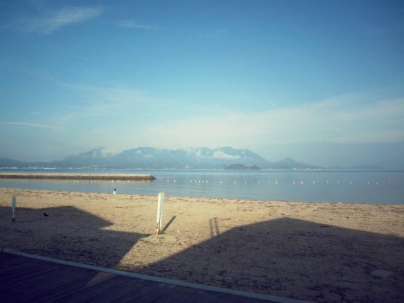 sun set beach